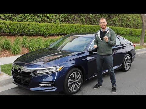 2020 Honda Accord Hybrid Test Drive Video Review Youtube