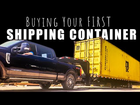 How To Build a Shipping Container Home – EP 1 Purchasing Your Shipping Container