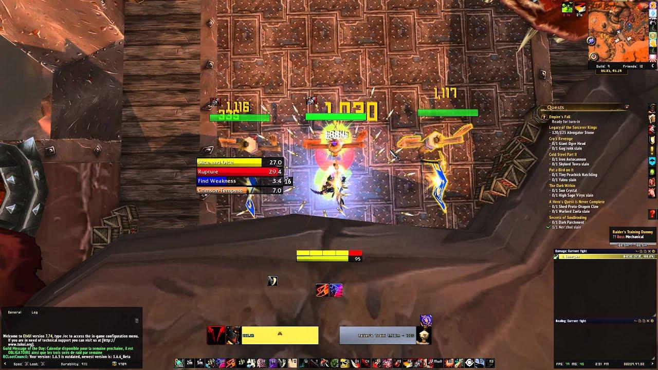 Weakauras Combat Subtlety Rogue World Of Warcraft 6 0 - Year