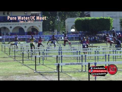 Girls 70m Hurdles Class 4 Heat 1 #JCMeet