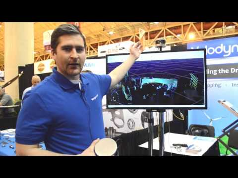 Velodyne features 3D lidar VLP-16 Puck mobile mapping system at AUVSI's Xponential 2016