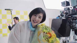 (C)コスタクルーズ 天海祐希出演『コスタ ネオロマンチカ』新CMメイキ...
