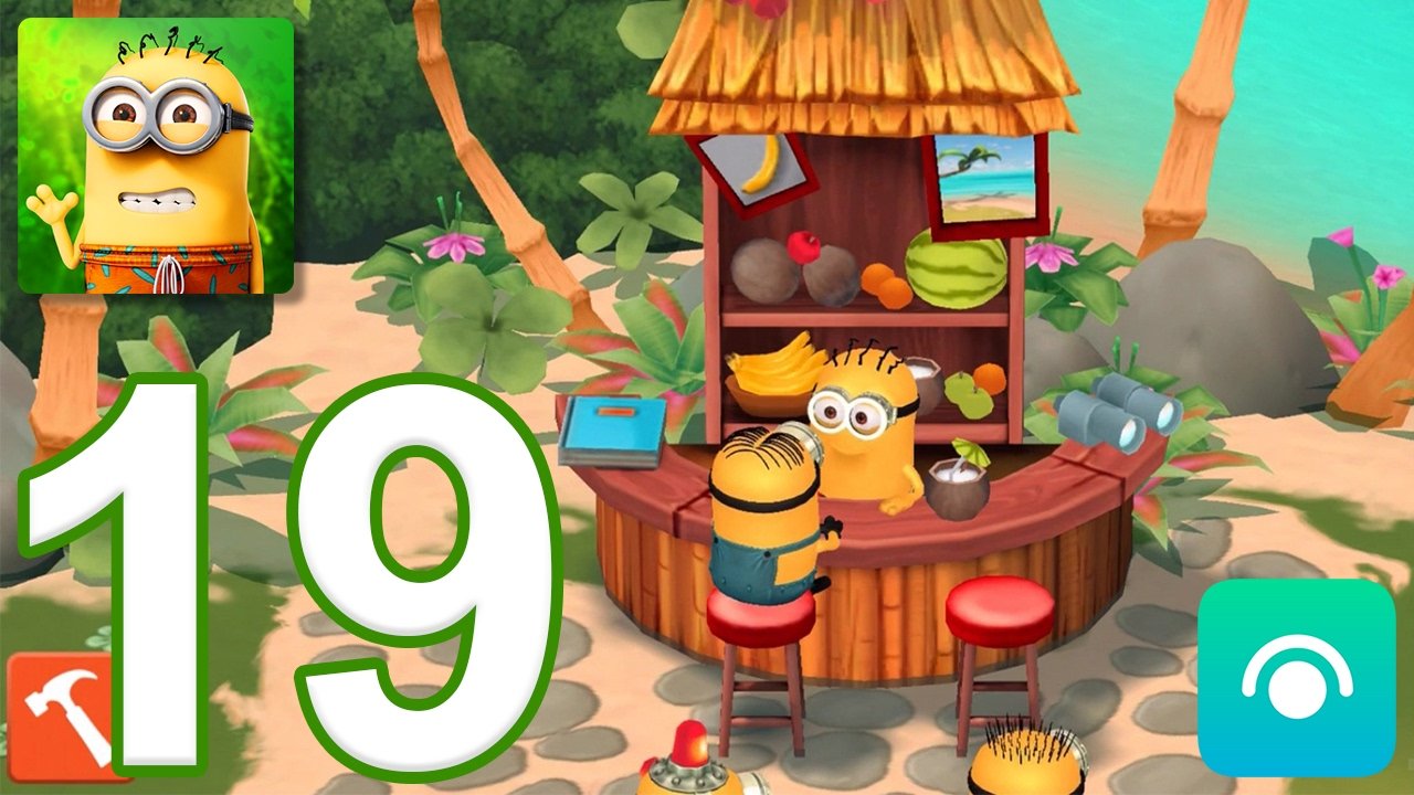 Minions Paradise - Gameplay Walkthrough Part 19 - Level 16-17 (iOS, Android)