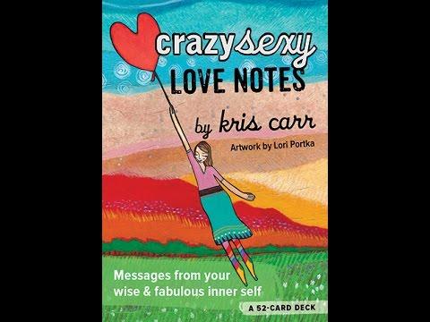 Crazy sexy love notes a 52 card deck