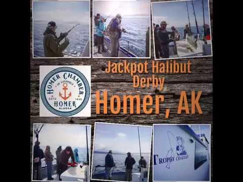 2017 Homer Alaska Jackpot Halibut Derby