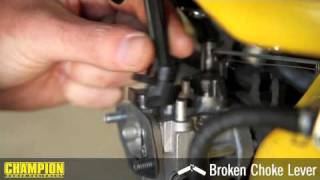 How-To: Replace A Broken Choke Lever