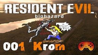 Resident Evil 7 Folge #01 Krom sucht seine Schwedin - Deutsches/German Gameplay - Resident Evil 7