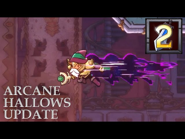 Rogue Legacy 2 Arcane Hallows Update - Void Dash