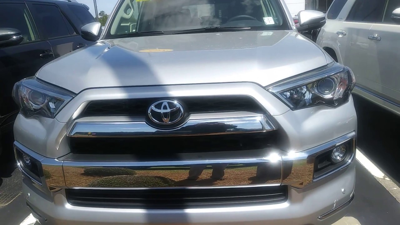 Amazing Jerry Bass At Massey Toyota In Kinston.N.C. On The 2018 Toyota 4 Runner
