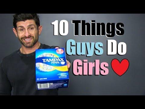 10 STRANGE Things Guys Do That Girls LOVE!