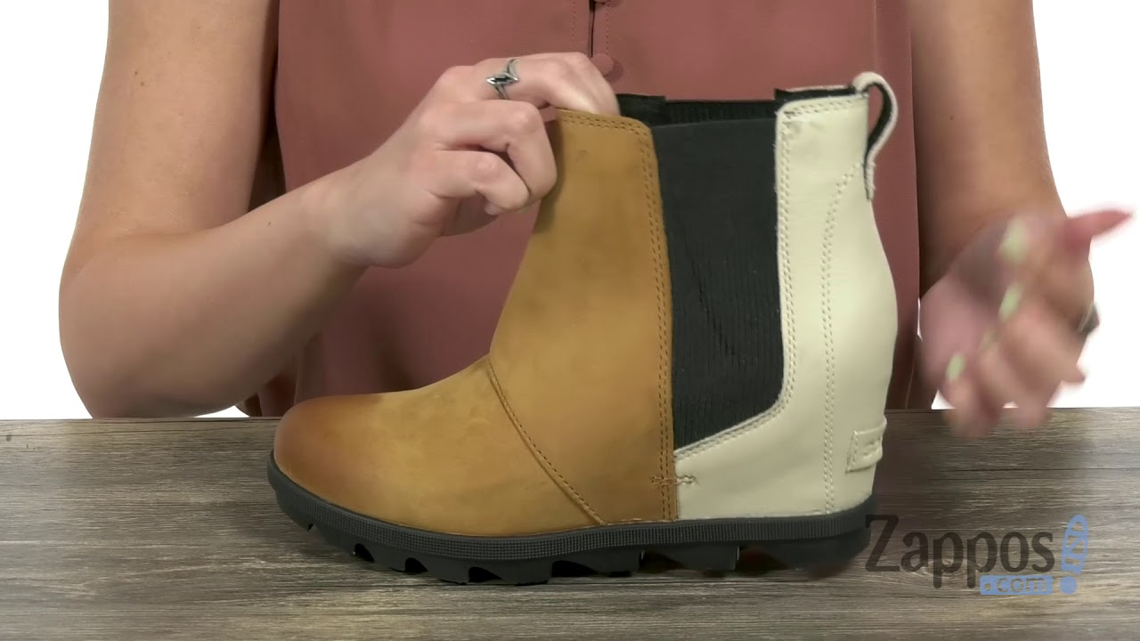 92a2e261008 SOREL Joan of Arctic™ Wedge II Chelsea SKU  9052409 - YouTube