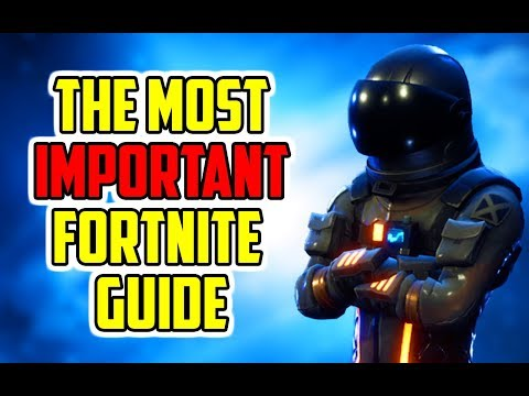 The Ultimate Building Guide (Fortnite How To Win Tips) PC, Xbox, PS4
