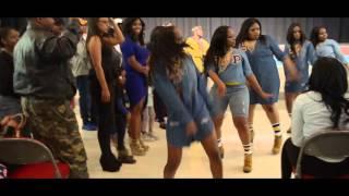 Sigma Gamma Rho Mu Xi Spring 2016 Probate Jacksonville State University #MovieMic Promos