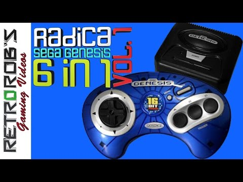 Radica Genesis 6 in 1 Plug and Play Vol 1. Review