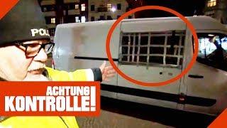 Verkehrskontrolle im Szenebezirk: Was findet die Polizei alles? | Achtung Kontrolle | kabel eins
