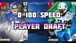 Madden 16 Draft Champions - 0-100 THEMED DRAFT!