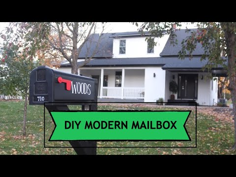 Mailbox Build | DIY MailBox Post | Exterior Home Renovation