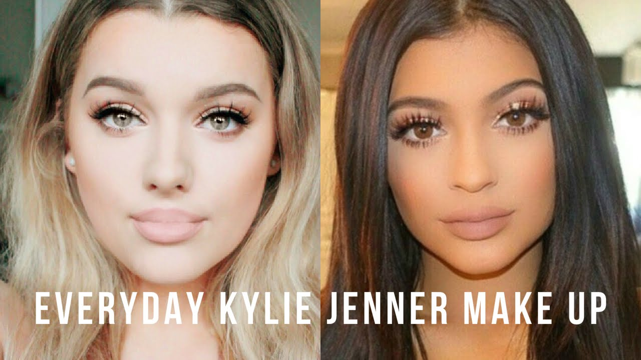Everyday Kylie Jenner Inspired Make Up Tutorial Rachel Leary You