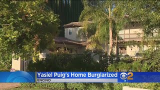 Burglars Break Into Encino Home Of Dodgers Slugger Yasiel Puig