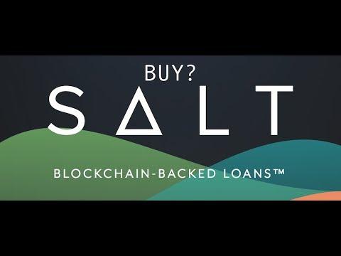 Buy SALT Lending Coin Before Moon Shot?