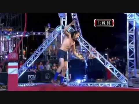 American Ninja Warrior 2015   Isaac Caldiero Stage 1 Victory