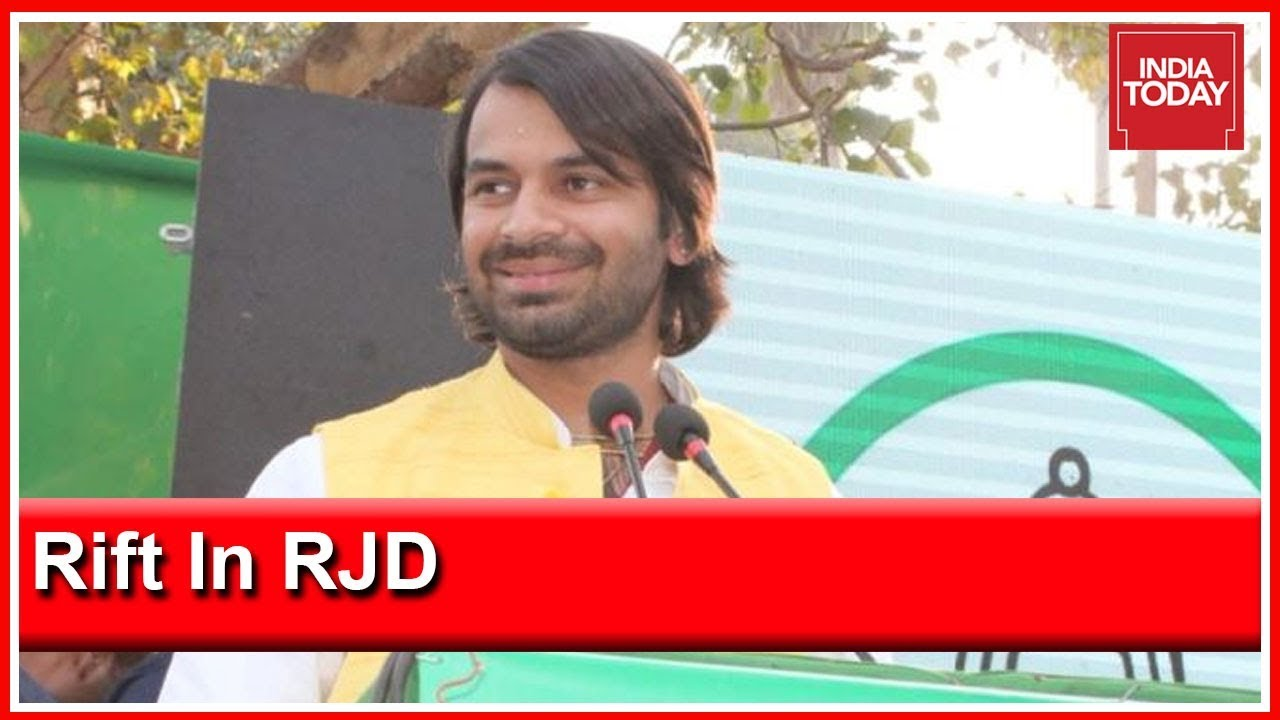 Tej Pratap Yadav Floats Lalu Rabri Morcha, Urges Mother To Contest From Saran