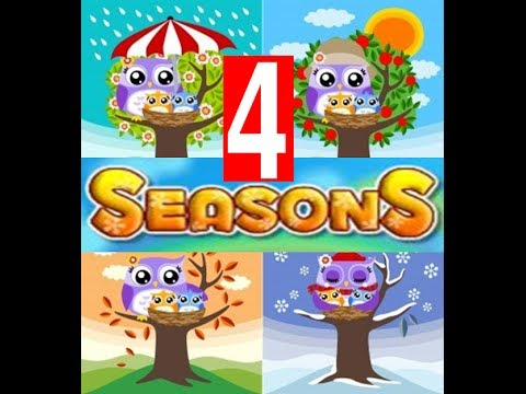 Four Seasons in the Year -Kindergarten ,Preschoolers