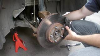 Замена шаровых опор Ford Transit Connect-Tourneo / Ball joint replacement Ford Transit Connect
