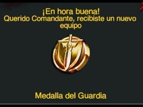 Medalla Del Guardian.Last Empire War-Z.