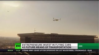 Flying Taxis Could Take To The Sky by 2020
