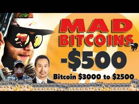 LIVE: Bitcoin Drops to $2500, was $3000 too high?