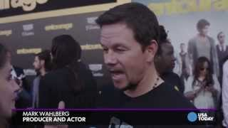 Mark Wahlberg explains dressed-down 'Entourage' premiere look