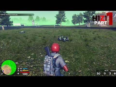 H1Z1 Battle Royale - Part 1 - FIRST GAME (PS4 Pro Gameplay)