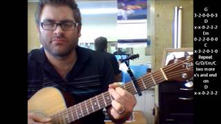 "How to play ""You Are The Best Thing"" by Ray LaMontagne with capo"