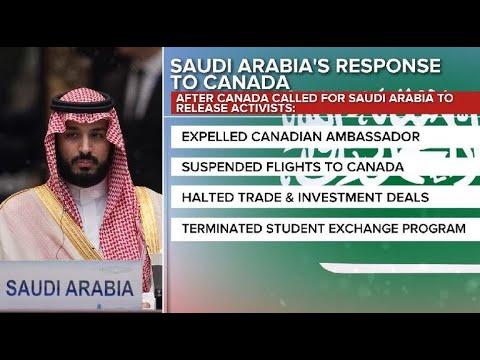 Feud between Saudi Arabia and Canada escalates