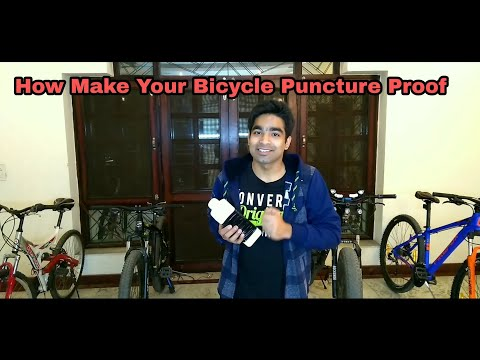 Make Your Bike Puncture Proof | In Just 100 rs Only | Antipuncture liquid