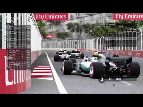 TUF F1 2017: TUF2 - S3 - Round 3 Baku