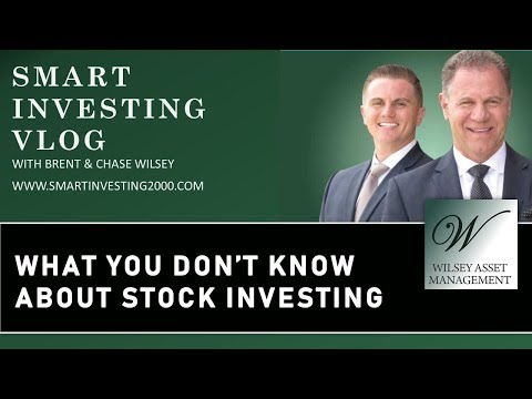 What You Don't Know About Stock Investing