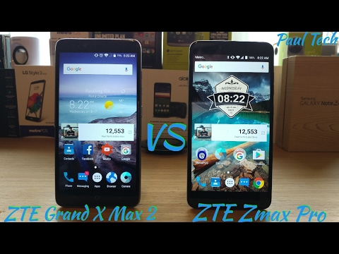 ZTE Grand X Max 2 vs ZTE Zmax Pro What device would you choose?