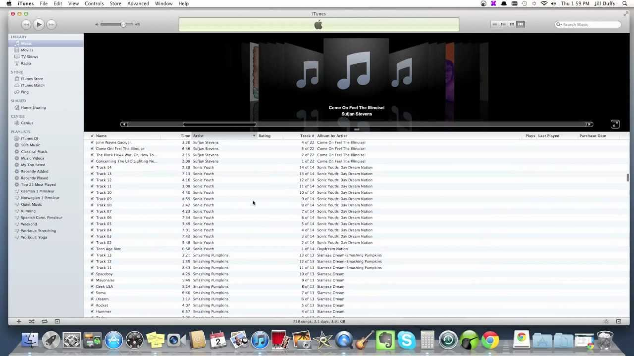 how to clean up itunes