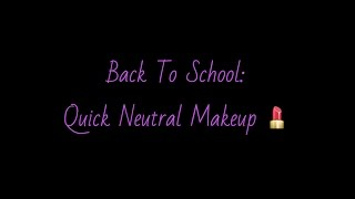BTS: Neutral Eye Makeup Thumbnail