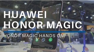 Huawei Honor Magic Hands On At CES 2017