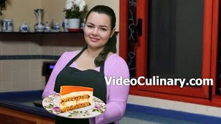 Italian Cream Carrot Cake Recipe - Video Culinary
