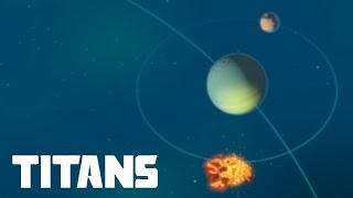 Planetary Annihilation: Titans - 2v2v2v2v2 Dramatic Mistake | Multiplayer Combat Gameplay