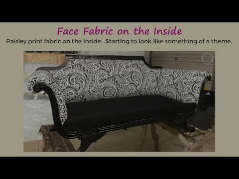 Sofa Makeover - From Retro to Metro