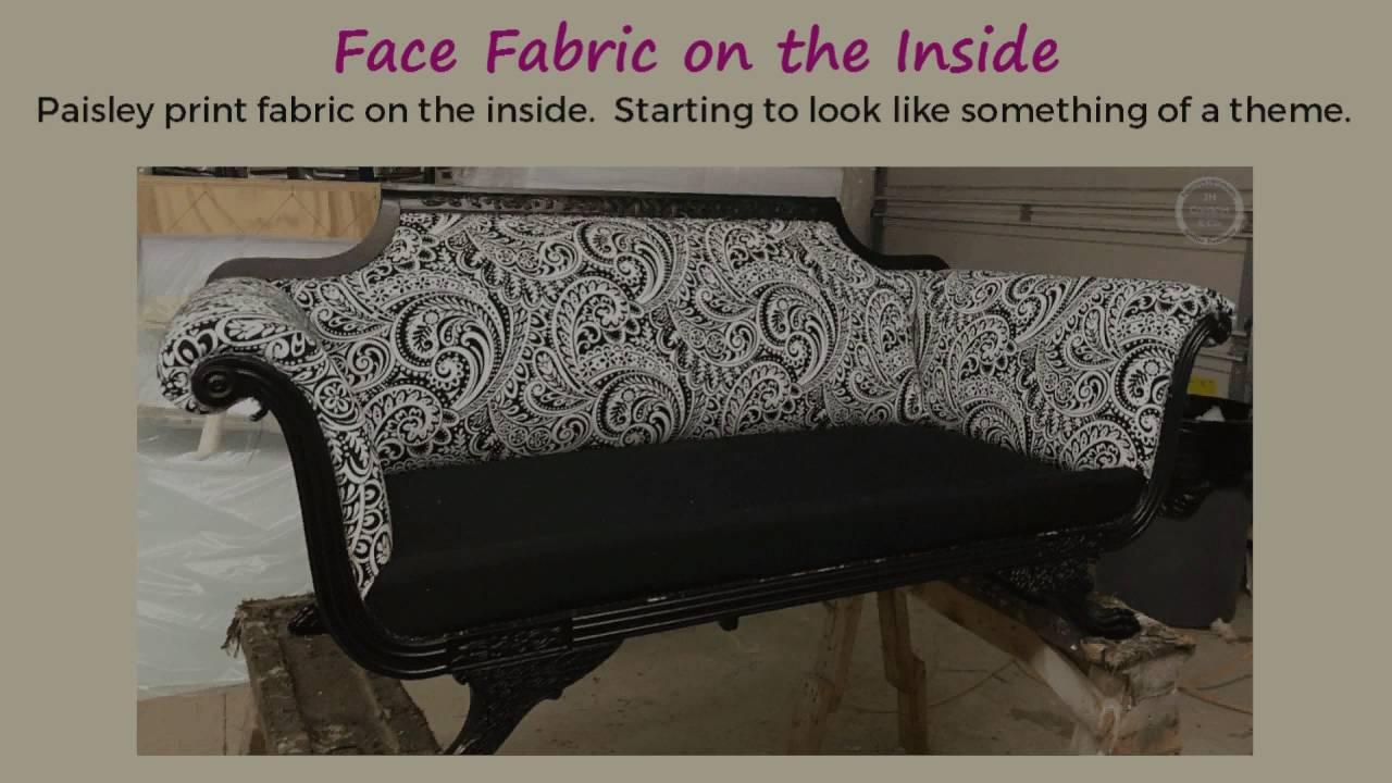 Sofa Makeover   From Retro To Metro   YouTube