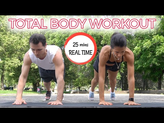 25 mins TOTAL BODY: CARDIO & TONING + UPPER BODY FINISHER | Silvia Fascians