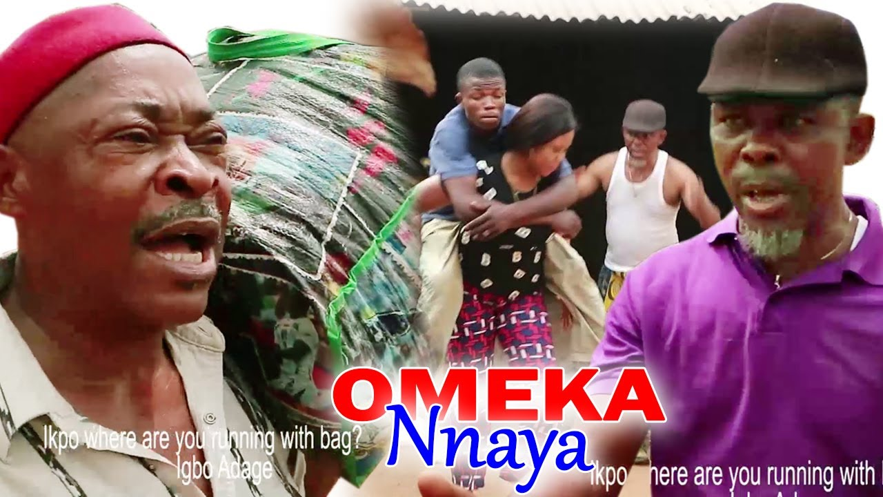 Download OMEKA NNAYA - 2021 LATEST NIGERIAN NOLLYWOOD IGBO MOVIE FULL HD