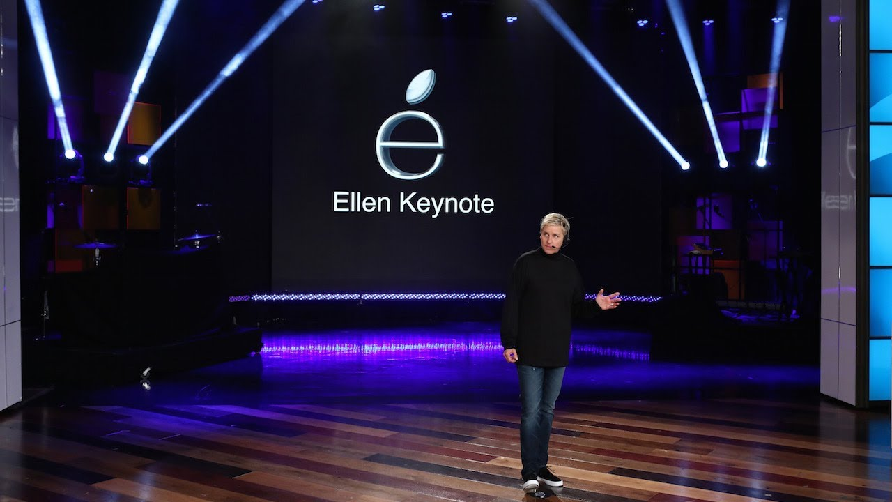 Ellen Delivers Keynote Address to Announce New Products