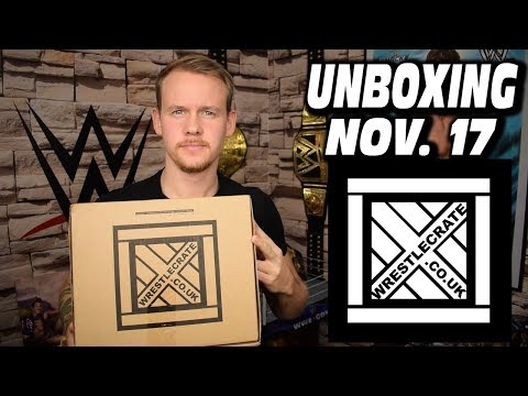 WrestleCrate UK Unboxing - November 2017 | NERDSTUFF